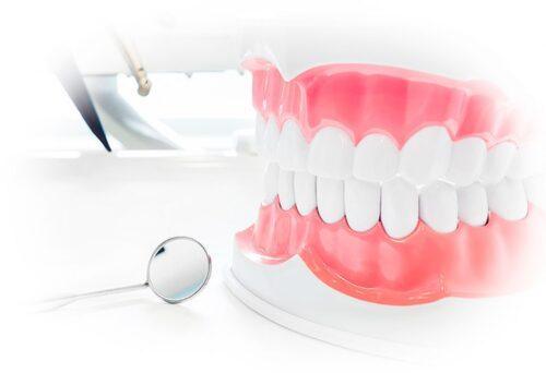 Лечение нижних зубов